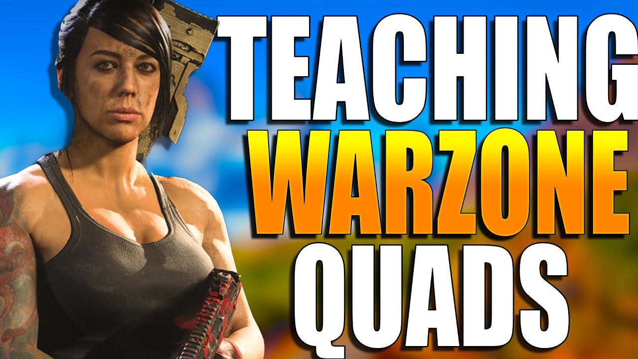 How to get BETTER at WARZONE Quads! Warzone Training! (Warzone coaching Tips and Tricks)