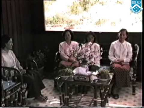Visit of Norodom Sihanouk to Khmer Rouge area near Thai-Cambodia border (1982/3)