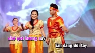 Karaoke (beat) Điệu Lâm Thôn Trà Vinh - Lê Như