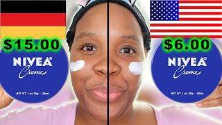 Nivea Cream vs. Nivea Cream! THE BEST NIVEA CREAM! Germany Nivea vs. American Nivea!