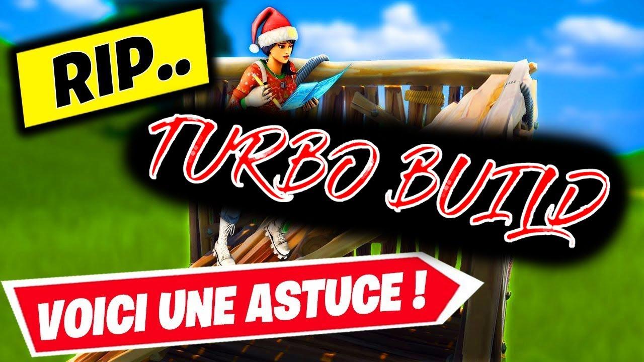 AVOIR LE TURBO BUILD FORTNITE PATCH 10.20