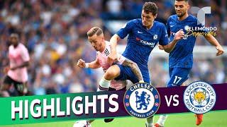 Chelsea vs. Leicester City: 1-1 Goals & Highlights | Premier League | Telemundo Deportes