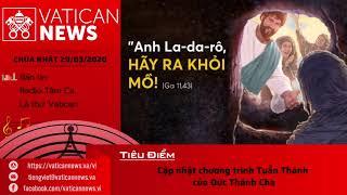 Vatican News Tiếng Việt Chúa Nhật 29.03.2020