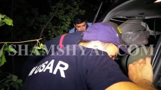 Հրազդանի կիրճում կին վարորդը Mercedes ով դուրս է եկել ճանապարհի երթևեկելի գոտուց և հայտնվել ձորակում