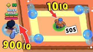 Биби 900 IQ vs ЕльПримо 10 IQ !!! Смешные Моменты Brawl Stars #27