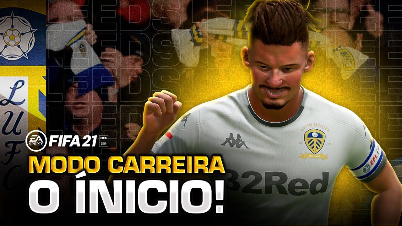 O INÍCIO COM O LEEDS! - MODO CARREIRA FIFA 21 #01