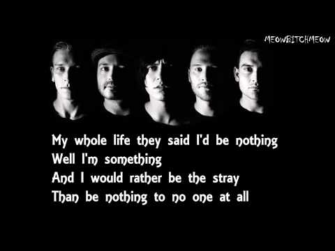 Sleeping With Sirens - The Strays (Lyrics)