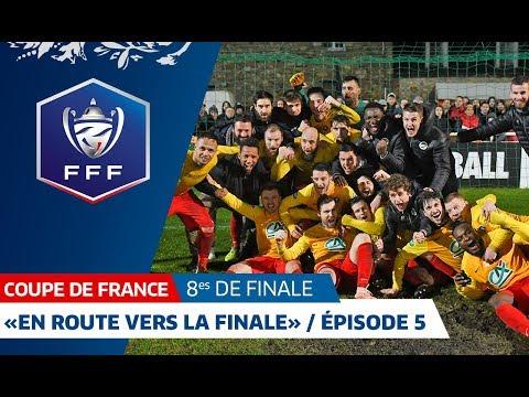 """Coupe de France, 8es : """"En route vers la finale"""" / Épisode 5 avec l'AS Vitré"""
