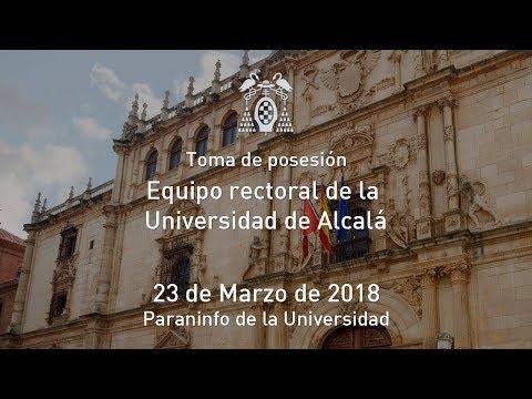 Solemne Acto de investidura del Prof. Dr. D. José Vicente Saz como Rector de la UAH y de su equipo