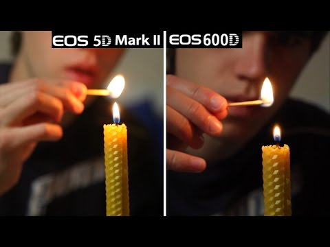 Canon 5D MarkII vs 600D/T3i Video Quality Test