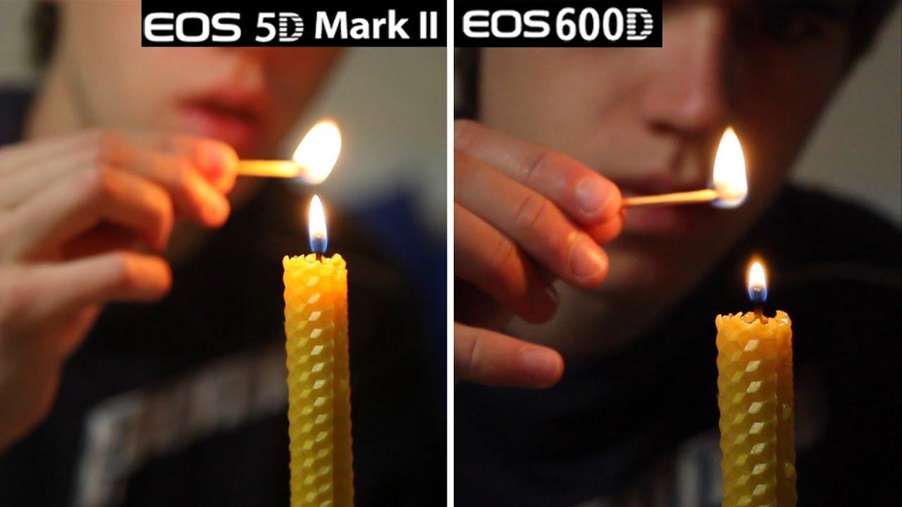 Canon 5D MarkII vs 600D/T3i Video Quality Test