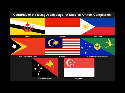 Malay Archipelago National Anthem Medley (Nightcore Style With Lyrics) - REMAKE!!!