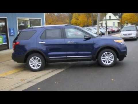 2012 Ford Explorer Xlt Dark Blue Youtube