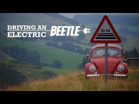 Driving an Electric Classic VW Beetle