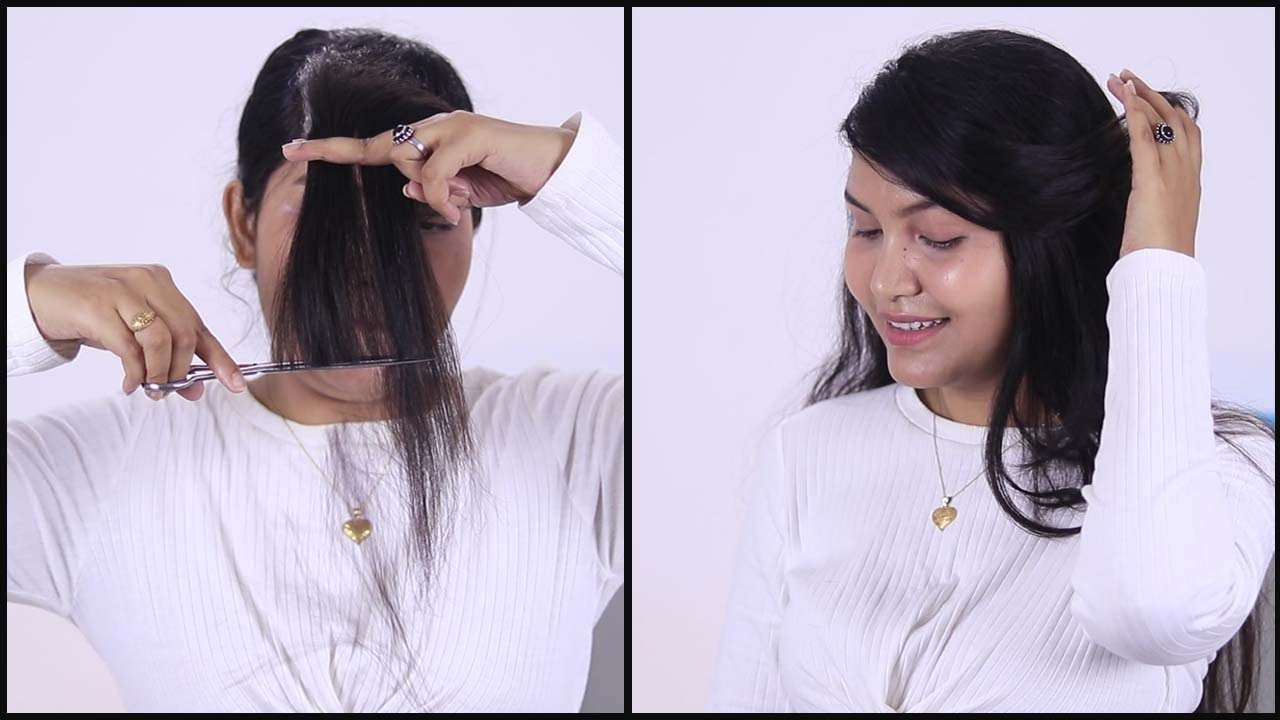 Hair cut for girls at home in simple steps#haircuttutorial (Lockdown Special)