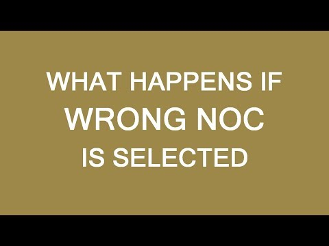 What Happens If You Select Wrong NOC For Immigration To Canada. LP Group