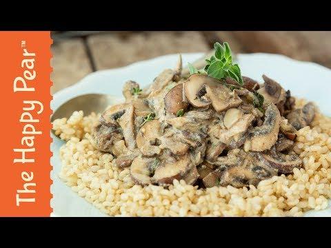 Mushroom Stroganoff with The Food Medic