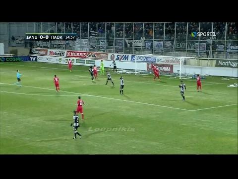 Ξάνθη - ΠΑΟΚ 1-2 Στιγμιότυπα Κύπελλο Ελλάδας | Προημιτελική φάση {9/2/2017}