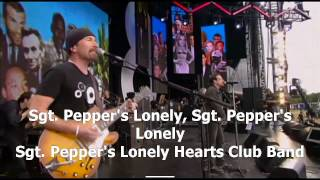 Sgt  Pepper's Lonely Hearts Club Band - Paul McCartney and U2