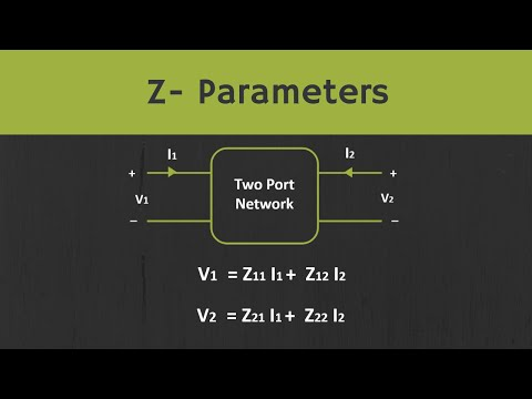 Z Parameters Explained   Condition For Reciprocity And Symmetry For Z- Parameters