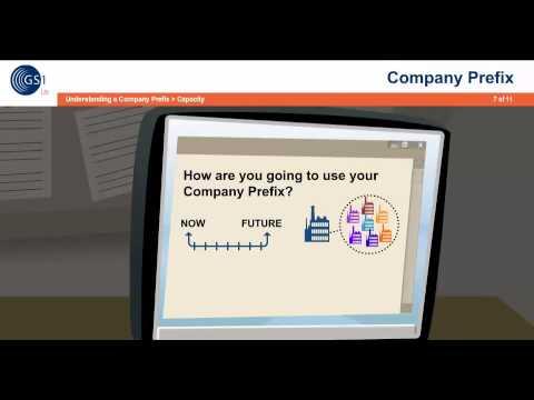 About the GS1 Company Prefix