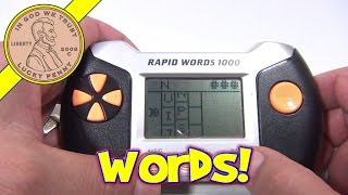 Rapid Words 1000 Electronic Handheld Game, Scholastic Games