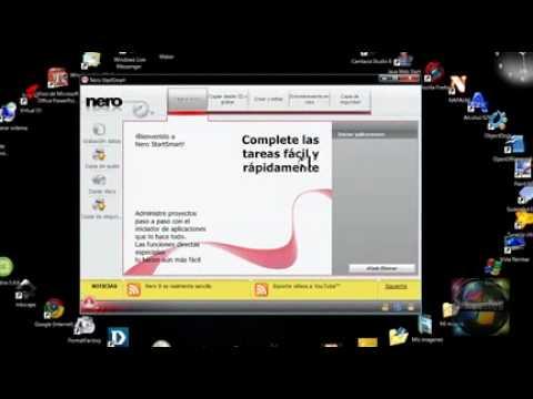 descargar nero startsmart 9 grabador cd y dvd youtube rh youtube com Tv En Espanol Nero StartSmart 10