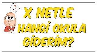 LGS'de X Netle Hangi Okula Girerim?