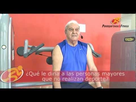 Testimonios Polideportivos & Fitness: Santiago, de 80 años, entrena 2 horas diarias