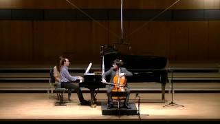 Mladen Miloradovic plays F. Chopin Cello Sonata in G minor, Op. 65