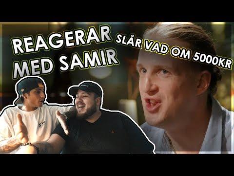 5000KR I POTTEN | Reagerar på Hemliga Beundrare med Samir!