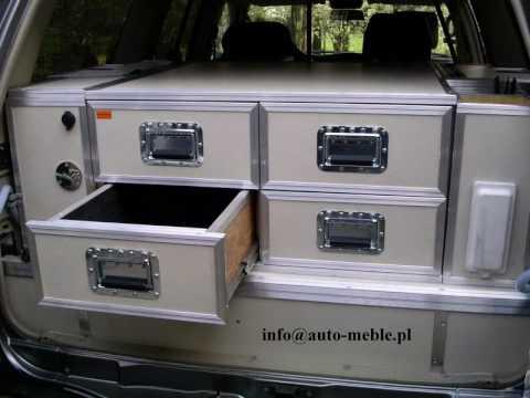Nissan Patrol Zabudowa Interior Design 4x4 Off Road Custom Built Indoor Off Road Vehicles