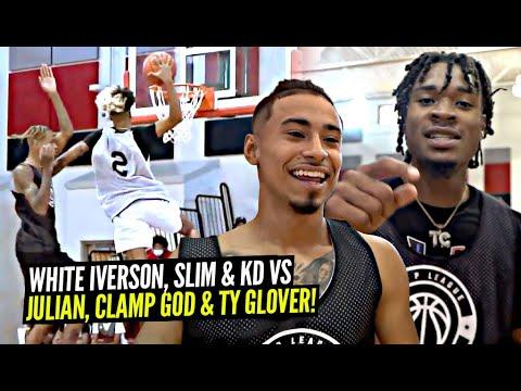 Download White Iverson & Slim Reaper vs Julian Newman, CLAMP GOD & TY!! Ballislife Squad SHUTS DOWN OHIO!
