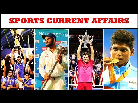 """Sports Current Affairs"" For Upcoming Exams !! - Study Capsule"