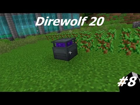 Direwolf 20 1.10 Let's Play Ep. 8: Wood Farming Automation