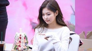 181117 제니 Jennie 블랙핑크 BLACKPINK @코엑스 팬싸인회 4K 직캠 by DaftTaengk
