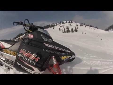 GoPro HD2 SNOWMOBILE MOVIE 2012 Serbia and Montenegro