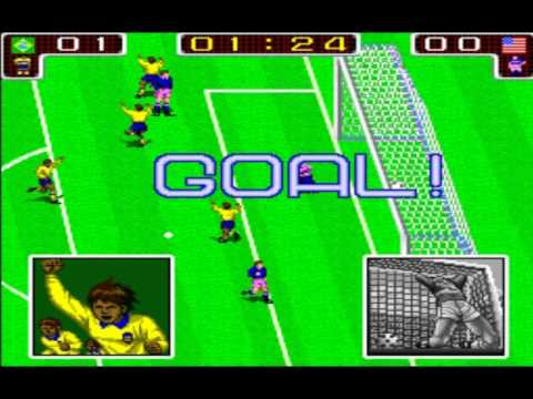 Tecmo World Cup 90  Classic Arcade