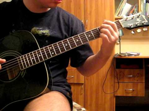 how to play bad by u2 on acoustic guitar
