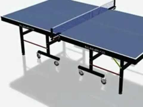 how to assemble table tennis table'' by jasper reales from