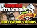3 TERRIBLE ATTRACTIONS! | Disney's Hollywood Studios