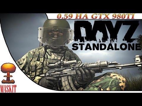 видео: dayz sa Версии 0.59 на gtx 980ti