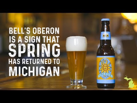 Bell's Oberon is a sign that spring has returned to Michigan