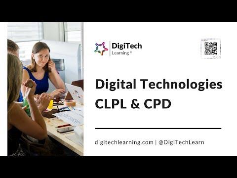 DigiTech Learning Scotland & UK - Digital Technology (ICT) Teacher CLPL & CPD