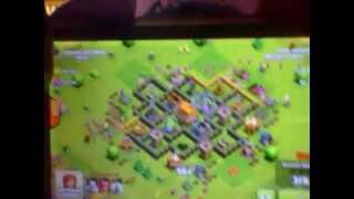 strategi menyerang Clash of Clans attack lawan