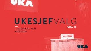 Valg av UKEsjef UKA-19