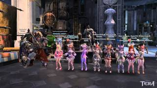 Tera - Allemantheia Elin Dance Party! [Celestial Hills Server]