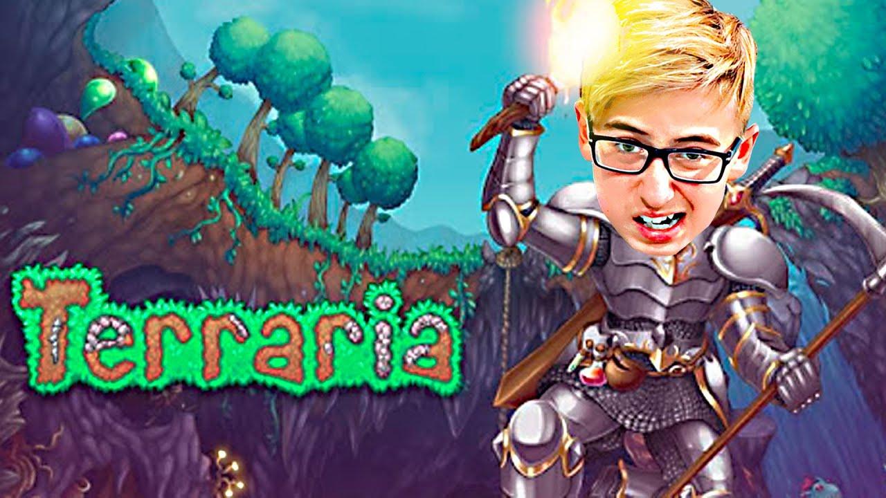 Приключения в Terraria: День 1 - Мы играем в Террария!