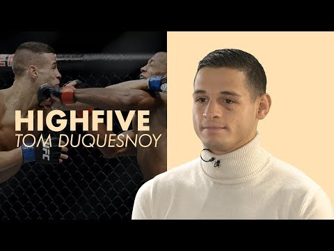 Tom Duquesnoy, star du MMA, en 5 infos : High Five