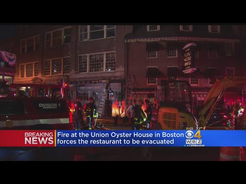 Fire Forces Evacuation Of Union Oyster House
